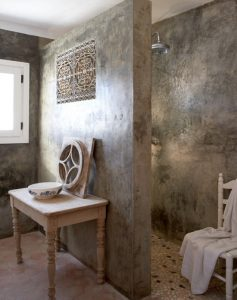 marmerstuc badkamer