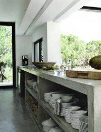 betonlook geven aan meubels